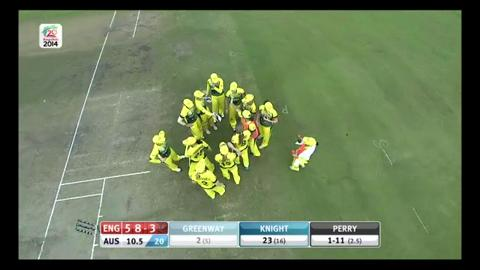 Final: Australia Women v England Women  - Lydia Greenway Wicket