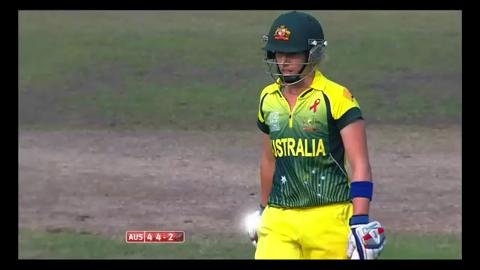 Final: Australia Women v England Women - Elyse Villani Wicket