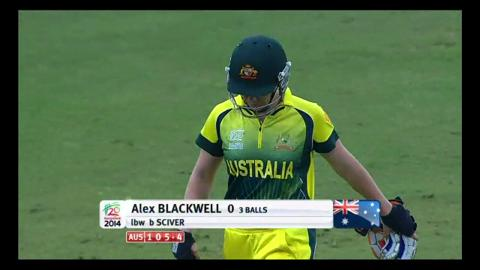 Final: Australia Women v England Women - Alex Blackwell Wicket