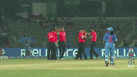 Women's World Twenty20: M8: England v India Highlights