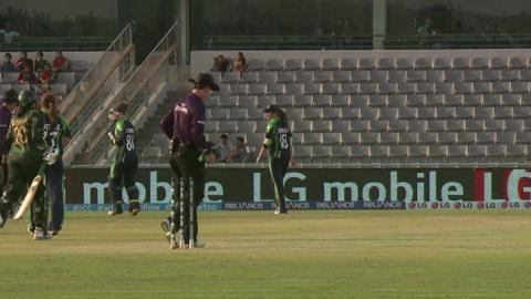 Women's World Twenty20 M17: Pakistan v Ireland Highlights