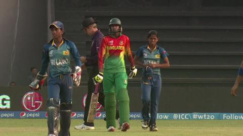 Women's World Twenty20 M19 Bangladesh v Sri Lanka highlights