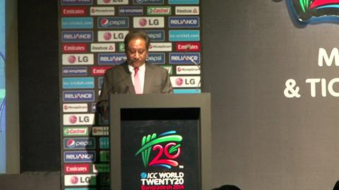 ICC World T20 Schedule launch VNR