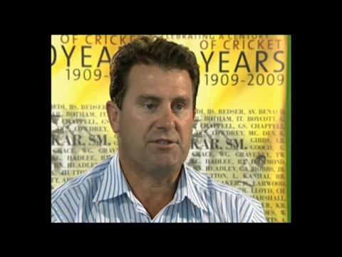 Former Australia captain Mark Taylor talks about the experience of losing a World Cup Final