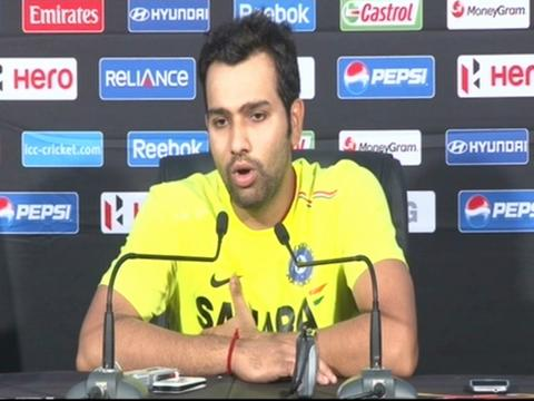 Rohit Sharma is confident