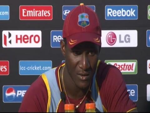 Darren Sammy press conference