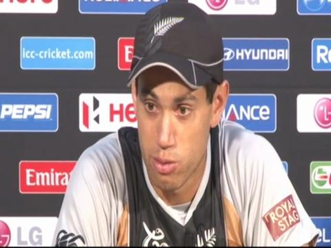 Ross Taylor is disappointed