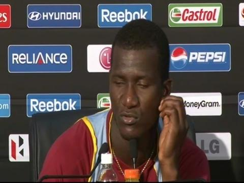 Darren Sammy on bowlers