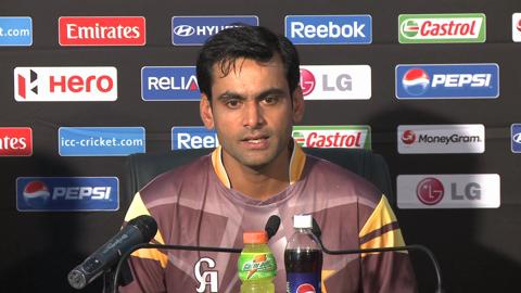 Mohammad Hafeez press conference
