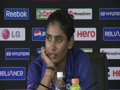 Mithali Raj disappointed