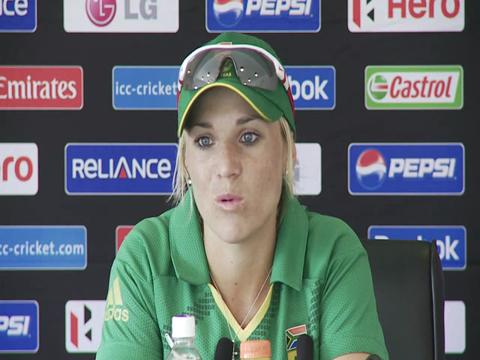 Mignon du Preez press conference