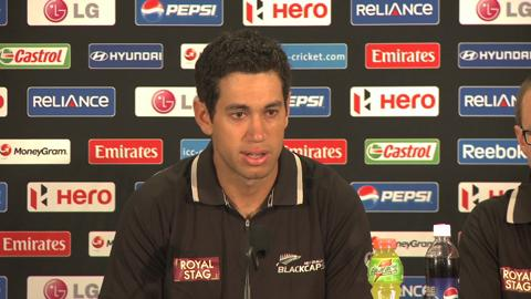 Ross Taylor press conference