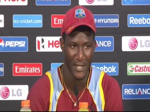 Darren Sammy delighted
