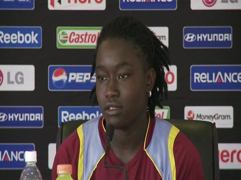 Deandra Dottin press conference