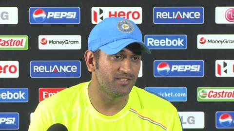 MS Dhoni looks ahead