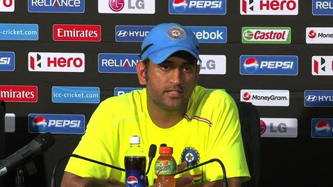 MS Dhoni on Australia