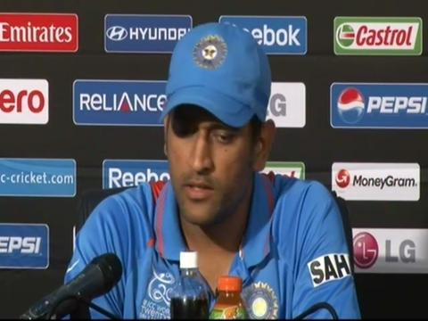 MS Dhoni delighted