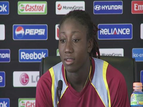 Stafanie Taylor press conference