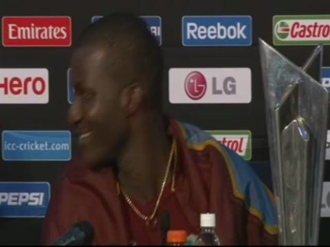 Darren Sammy on gangnam
