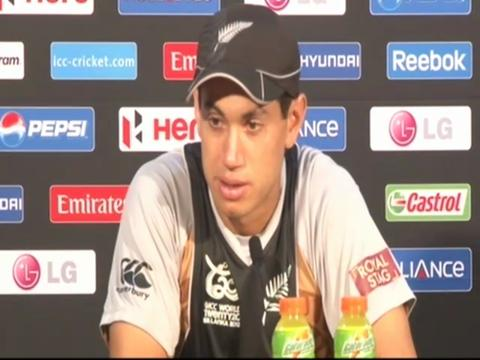 Ross Taylor on Super Over