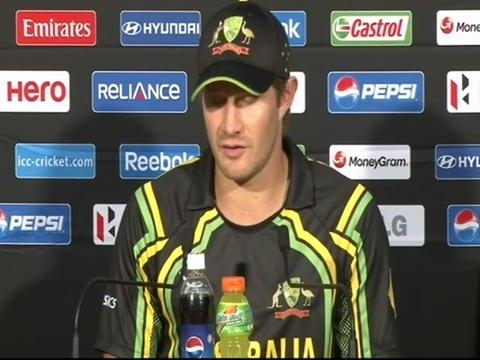 Shane Watson press conference