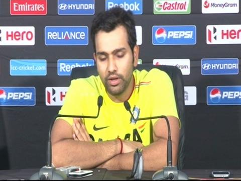 Rohit Sharma reflects