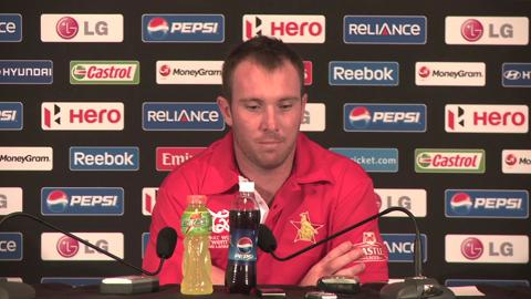 Brendan Taylor press conference
