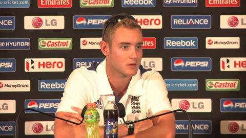Stuart Broad press conference