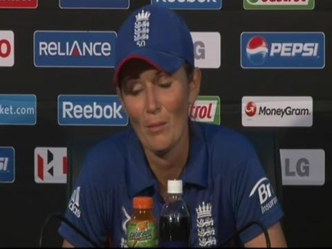 Charlotte Edwards disappointed