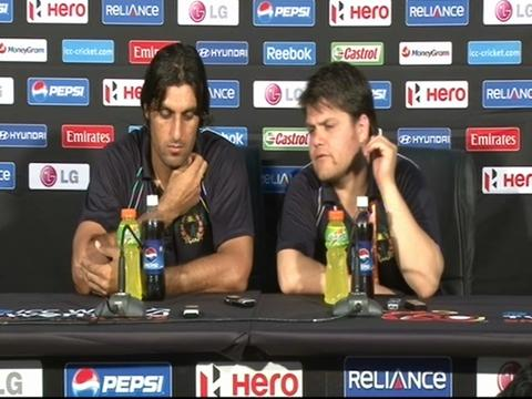 Shapoor Zadran press conference