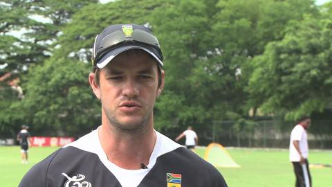 Albie Morkel press conference