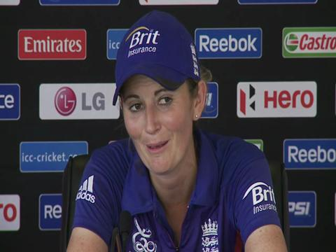 Charlotte Edwards thrilled