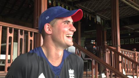 Alex Hales Interview