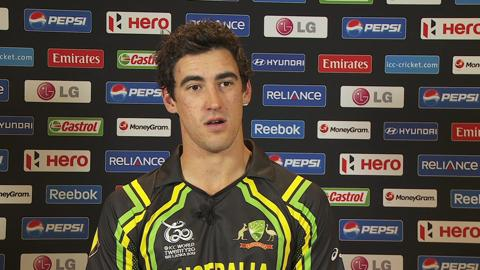 Mitchell Starc Interview