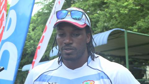Chris Gayle Interview