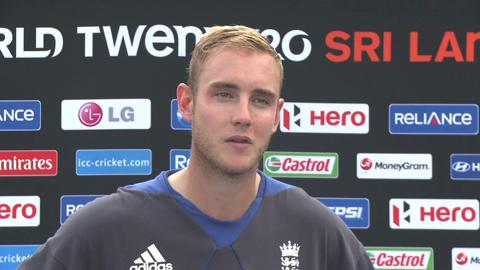 Stuart Broad Interview