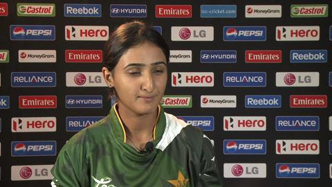 Bismah Maroof Interview
