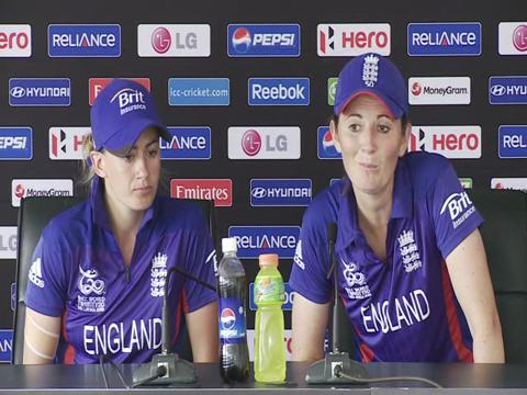 Charlotte Edwards and Laura Marsh interview