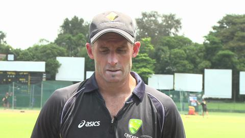 Mike Hussey interview