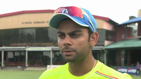 Virat Kohli interview