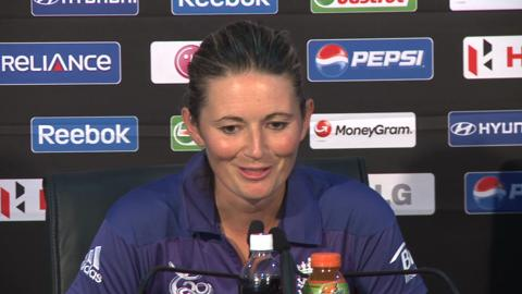 Charlotte Edwards press conference
