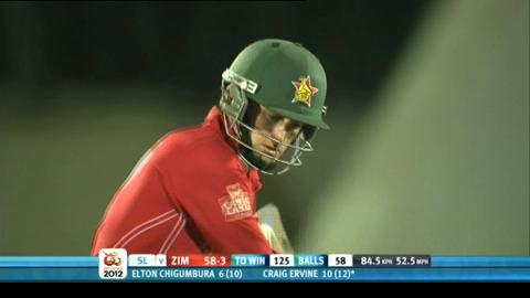 Group C - Sri Lanka v Zimbabwe, Zimbabwe innings highlights