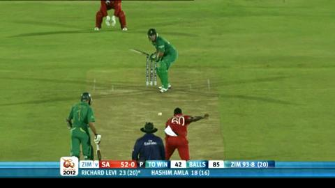 Group C - South Africa v Zimbabwe, South Africa innings highlights