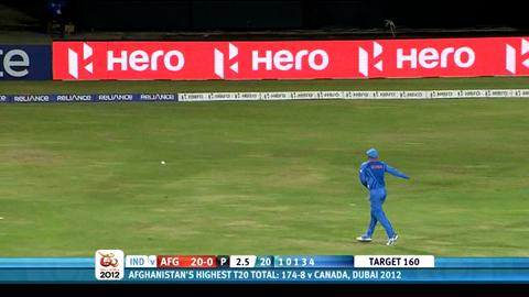 Group A - Afghanistan v India, match highlights