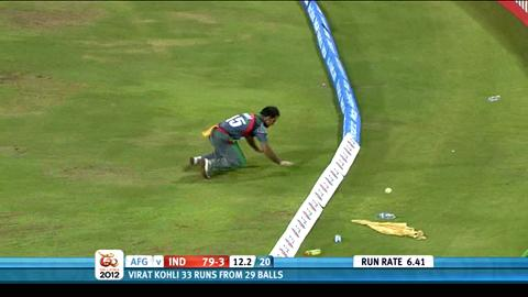 Group A - Afghanistan v India, India innings highlights