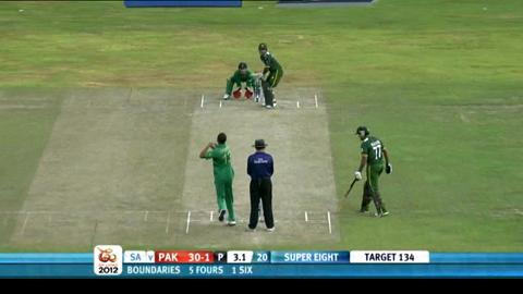 Super Eights - Pakistan v South Africa - Match highights