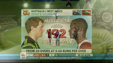 Group B - Australia v West Indies - Match highlights