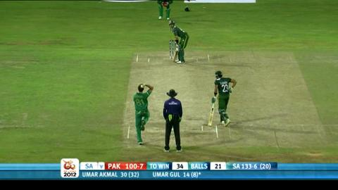 Super Eights - Pakistan v South Africa - Pakistan innings
