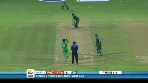 Group D - Pakistan v Bangladesh - Pakistan innings