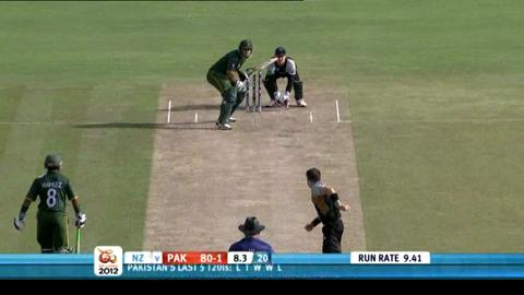 Group D - Pakistan v New Zealand - Pakistan innings